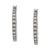 *V4 WEIGHT*  NEW! Hoops 1/5 ct tw
